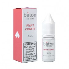 Baton - Fruit Confit - Salt Eliquid - 10ml Bottle