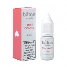 Baton - Fruit Confit - Salt Eliquid - 10ml Bottle