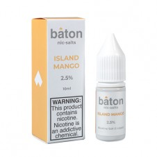 Baton - Island Mango Salt eliquid 10ml Bottle