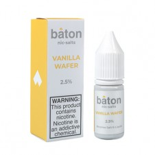 Baton - Vanilla Wafer Salt Eliquid - 10ml Bottle