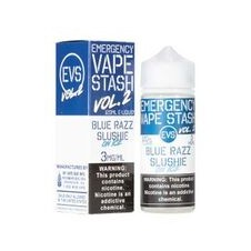 Emergency Vape Stash - Blue Razz Slushie Ice