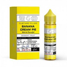 Banana Cream Pie by Glas Basix 60ml E-Liquid Bottle