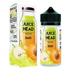 Juice Head - Peach Pear 100ml Eliquid