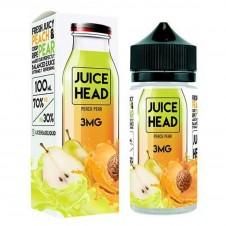 Juice Head - Peach Pear 100ml Eliquid