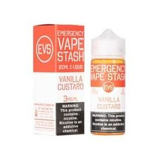 Emergency Vape Stash - Vanilla Custard