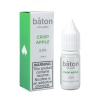 Baton - Crisp Apple - Salt Eliquid - 10ml Bottle