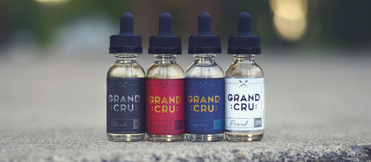 Bottles of Grand Cru